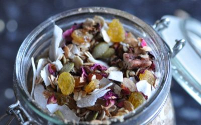 Floral Muesli with a Taste of Winter