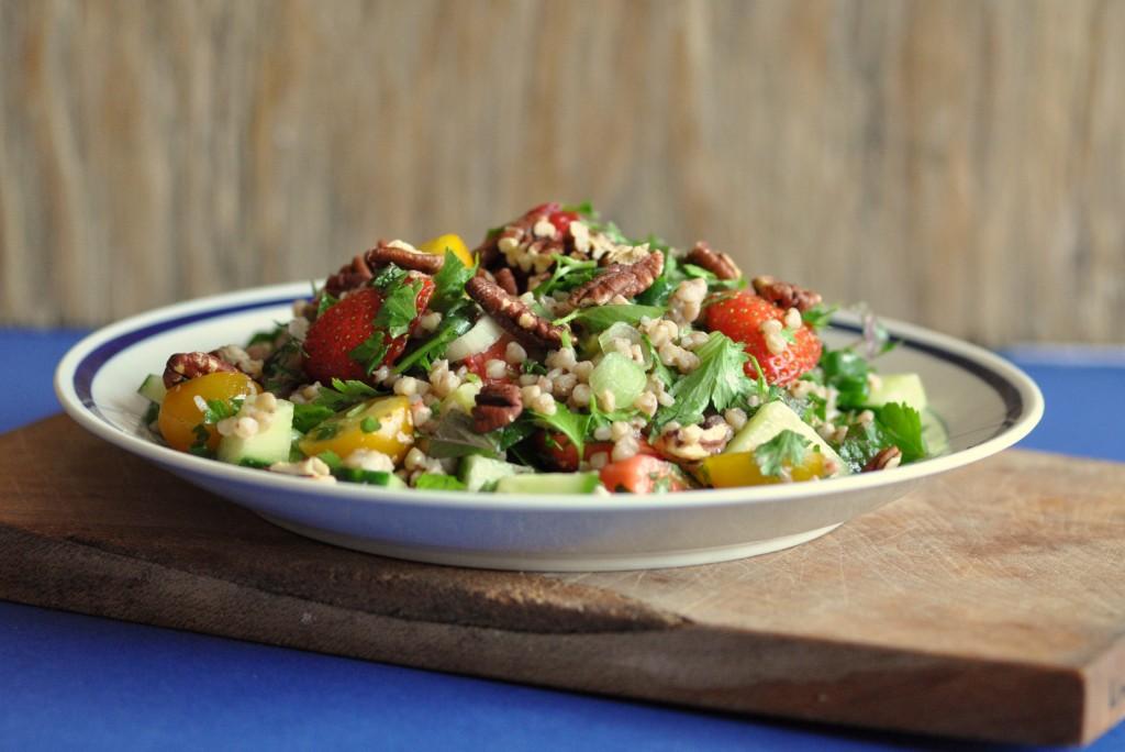 Buckwheat Tabbouleh Salad