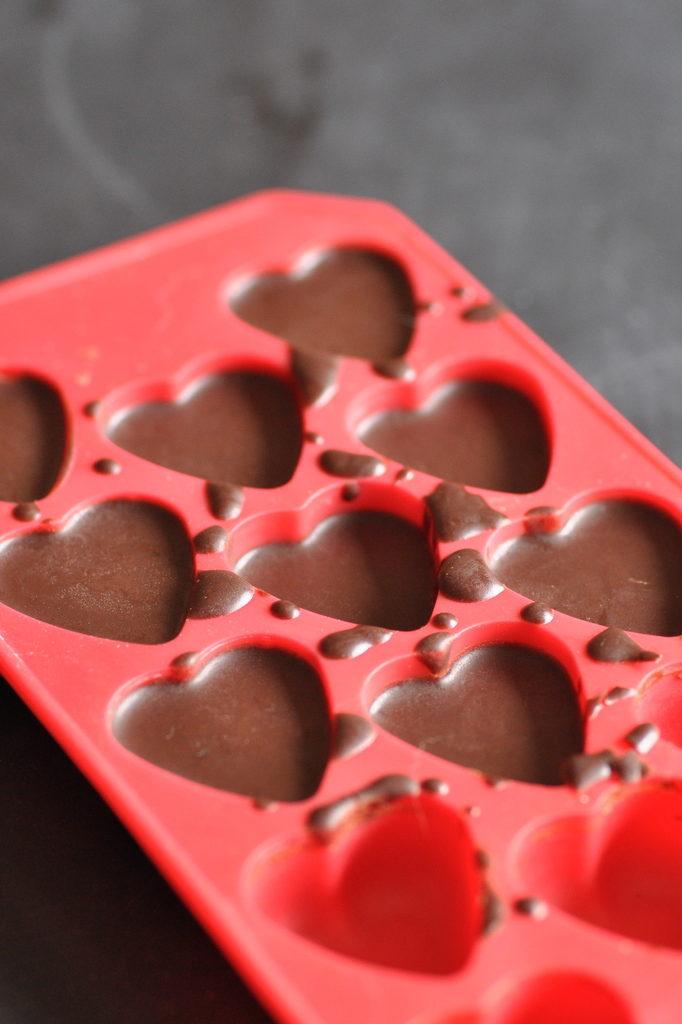 raw chocolate with tahini