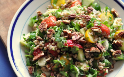 Buckwheat Tabbouleh with Strawberries – Summer Salad Series part 2
