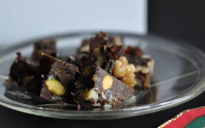 Fruit & Nut Truffle Cake