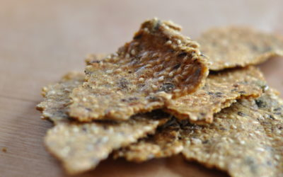 Simple Seed Crackers