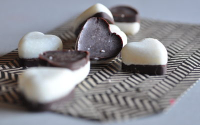 Raw Coconut-Mint Chocolate