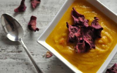 An uplifting Carrot Soup