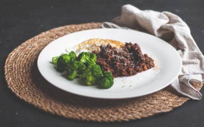 Lentil & Mushroom Casserole