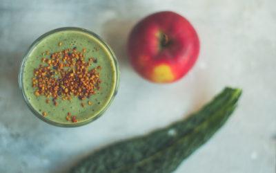 Apple & Kale Green Smoothie