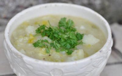Chunky Irish Potato & Leek Soup